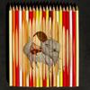 Рисунки не карандашами, а на карандашах. GhostPartol's Pencil Art