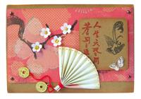 Японские открытки скрапбукинг, вечера мой